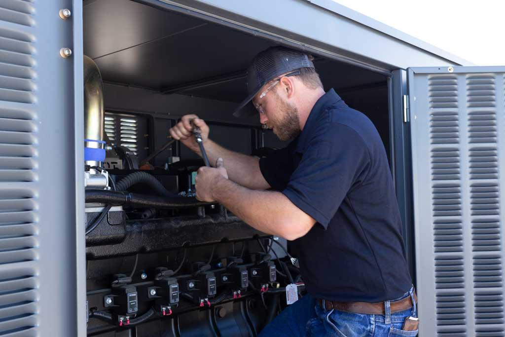 Generator planned maintenance